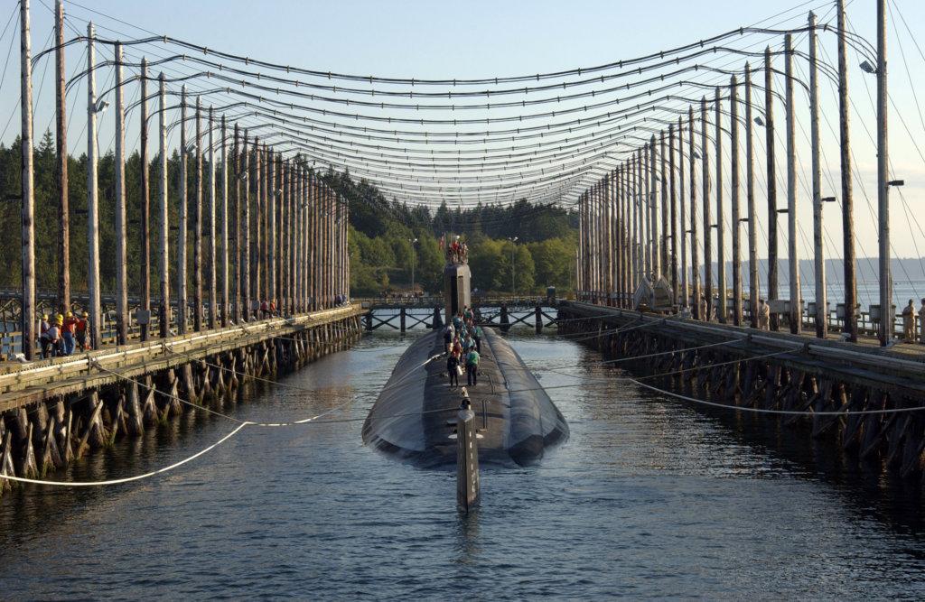 Entmagnetisierung von einem U-Boot
