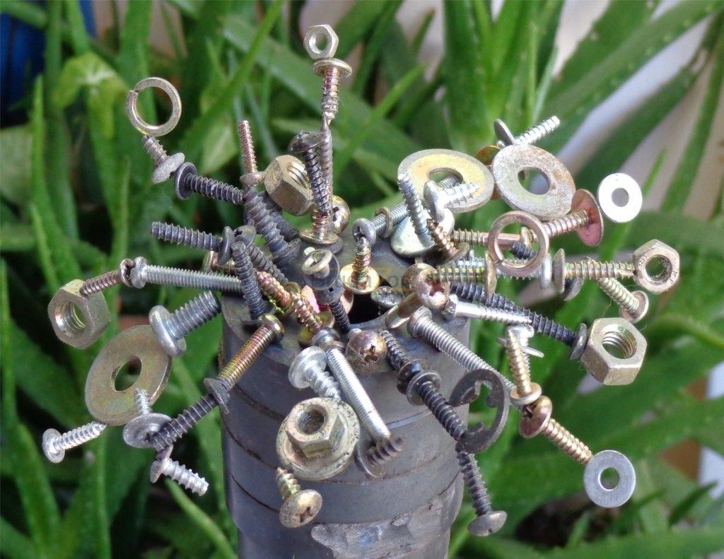 Ferritmagnete mit Schrauben der Supermagnet macht es möglich