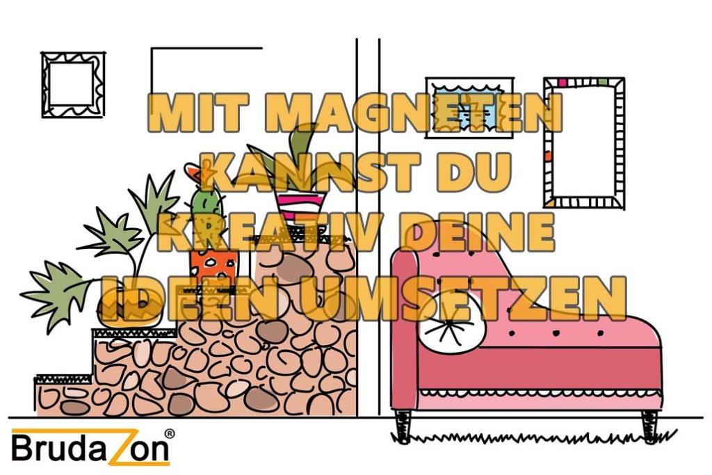 Möbel umbauen mit Magnete im Haushalt_BRUDAZON